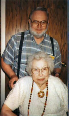 Ray Downen w/Grace Lewis, his aunt